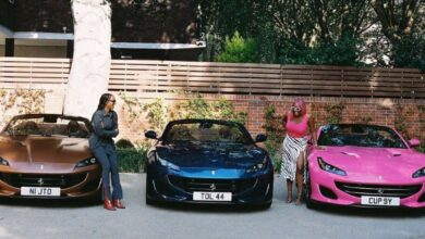 Photo of NIGERIAN DISC JOCKEY DJ CUPPY & SISTERS RECEIVE EXPENSIVE CARS
