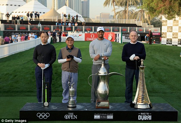 Photo of DEFENDING CHAMPION, TIGER WOODS PLAY 2019 OPEN CHAMPION, SHANE LOWRY