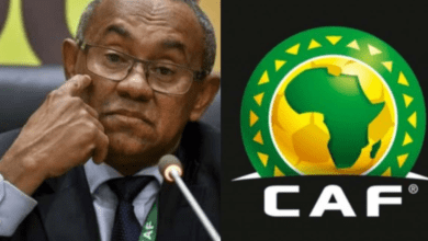 Photo of FIFA BAN CAF PRESIDENT AHMAD